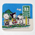 Peanuts Trail Sign Glow-in-the-dark Safety Patch