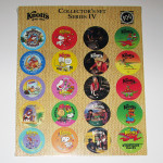 Knott's Berry Farm Pogs Collector's Set Series 4