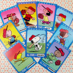 Peanuts Baseball Trading Cards by Ziploc