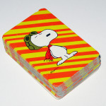 Snoopy Flying Ace Mini Playing Cards