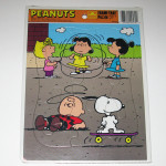 Peanuts Gang Playground Tray Puzzle