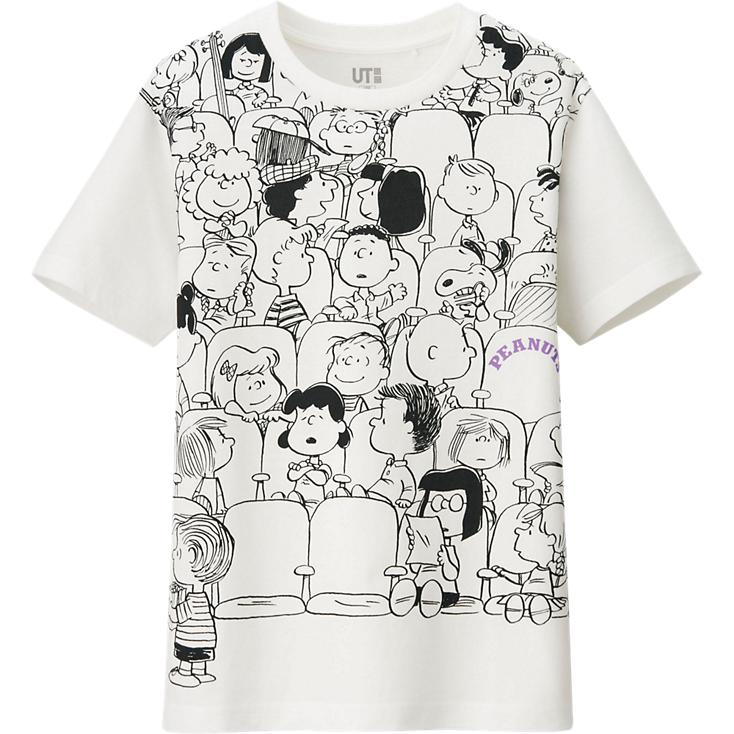 peanuts tees from uniqlo. Black Bedroom Furniture Sets. Home Design Ideas