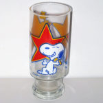 "Snoopy & Woodstock ""Superstar"" Glass"