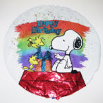 Snoopy & Woodstocks Birthday Balloon