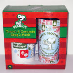 Snoopy Christmas Mug Set