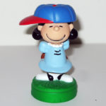 Lucy baseball Playdoh Topper Figurine