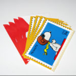 Snoopy Flying Ace Stamp Notecards