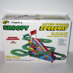 Snoopy Speedway Battery-Operated Race Track Ramp