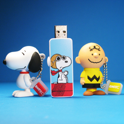 Peanuts EMTEC USB Drives