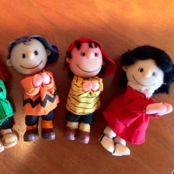 Peanuts Gang Clip-on Dolls