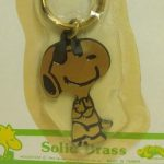 Snoopy Brass Keychain by Aviva