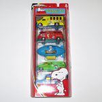 Peanuts Gang Set of 5 Die-cast vehicles