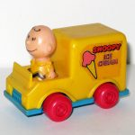 Charlie Brown in Snoopy's Ice Cream Truck Push n' Pull Car