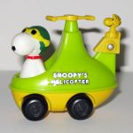 Flying Ace Snoopy in Helicopter Push n' Pull Car