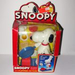 Chef Snoopy Animated Wind-up with Flipping Action