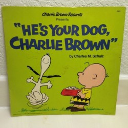 He's Your Dog, Charlie Brown Book & Record