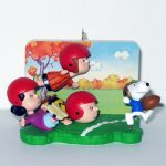 Peanuts Gang Football Game Ornament