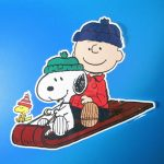 Peanuts Christmas Window Clings