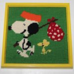 Snoopy & Woodstock Needlepoint Wall Hanging