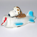 Flying Ace in Plane Squeaky Toy