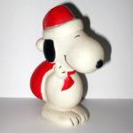 Santa Snoopy Squeaky Toy