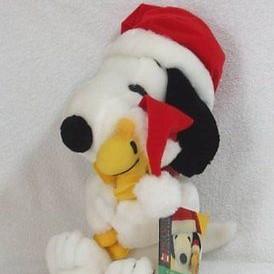 Snoopy & Woodstock Christmas Plush