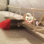 Snoopy Flying Ace Bi-Plane