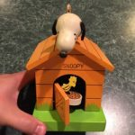 Snoopy & Woodstock Doghouse Musical Bank