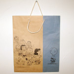 Peanuts Gang Dancing Shopping Bag