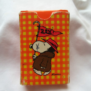 Snoopy Hallmark Playing Cards