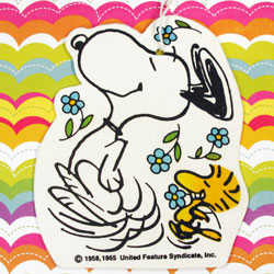 Dancing with Snoopy