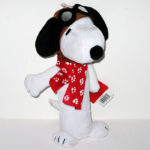 Snoopy Flying Ace Water Bottle Dog Toy