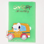 Snoopy driving Taxi Pin