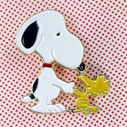Click to view newly added Snoopy Pins