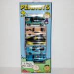 Peanuts Gang 5 Die-cast Vehicles Set