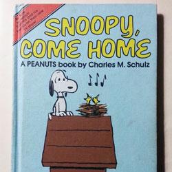 Snoopy, Come Home Book