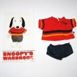 Snoopy Dress-Up Doll Biker Outfit