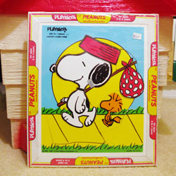 Peanuts Wooden Puzzles - Peanuts Treasure Box