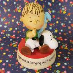 Snoopy & Linus with Blanket Figurine