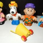 Peanuts Farmers McDonald's Happy Meal Toys