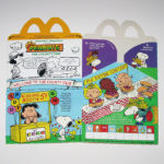 Peanuts Gang at the County Fair Happy Meal Box