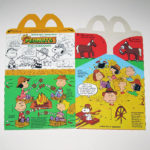 Peanuts Gang The Hoedown Happy Meal Box