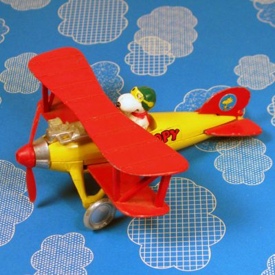 Snoopy Flying Ace Bi-Plane