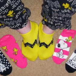 Snoopy Socks - Peanuts Treasure Box