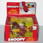Snoopy Flying Ace Die Cast Bi-Plane