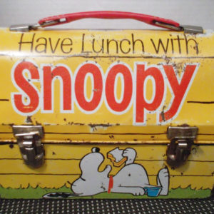 """Have Lunch with Snoopy"" Domed Lunch Box"