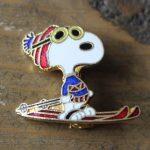 Snoopy Ski Pin