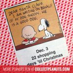 Peanuts Christmas Countdown