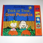 Trick or Treat, Great Pumpkin Book