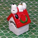 Snoopy on Doghouse Ornament